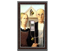 American Gothic Design Switchplate 1528x  mrs butler (choose style & price in drop-down box)