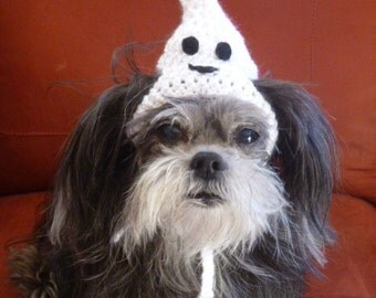 Dog or Cat- Halloween GHOST or WITCH - Humorous - 2 to 20 lb pets - need measurement