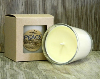 Essential Oil Candle / All Natural Soy Candle / Aromatherapy Candle