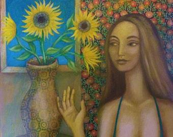 The Sunflower Room.