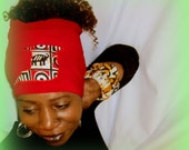 Unisex Trini Hair / Locs  Hugger - Women Dread Locs Socks- Stretch Hair Covering- Hippi - Boho-Choose A  Length