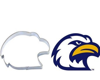Eagle Head Cookie Cutter for Military, Scouts, Patriotic, Elections, 4th of July , Hawk head cookie cutter, falcon cookie cutter
