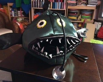 Angler Fish costume-one size fits all