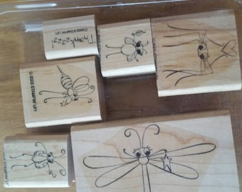 Stampin' Up! Cute as a Bug set of 6 stamps