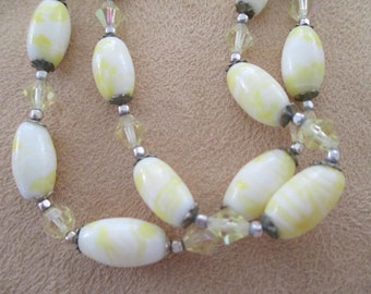 vintage costume jewelry  / 2 strand necklace just reduced was 10.00 now 8.99