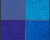 RESERVED LISTING for Sara --1 Yard  Kunin Rainbow Classic Polyester Felt -- Choose from Cadet Blue, Crystal Blue, Royal Blue, or Neon Blue