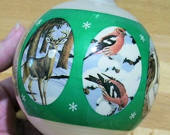 National Wildlife Federation, 1979 Christmas Ornament