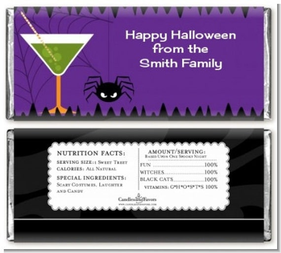 fun sized candy halloween wrappers | just b.CAUSE