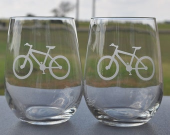 Mountain Bike Glasses - your choice for Cyclists, Mountain Bikers, Outdoorsy People, Just a Cool Gift made by Jackglass on Etsy