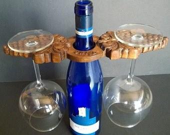 Grape Wine Caddy