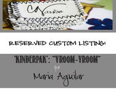 RESERVED LISTING: Maria Aguilar