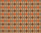 Riley Blake Fabric Fox Trails by doohickey designs Brown C2684
