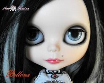 OOAK REALISTIC custom Blythe eye chips set E13, by Ana Karina WATERPROOF