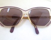Rare CAZAL 1980s Sunglasses // 80s Vintage Designer Frames  // Germany // model ist series