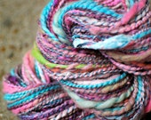 Art Spun Handspun Yarn 2 Ply Merino Wool Alpaca Yak Cotton - 1