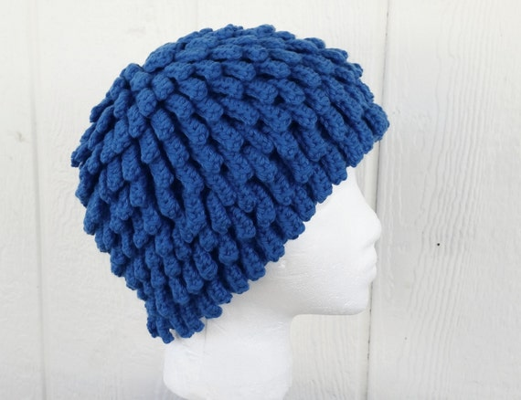 Knitting Pattern For Nudu Hat : Bamileke Nudu Beanie Medium Cobalt Blue Billy G. by Tejidos