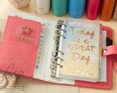Light Pink Color Crush Personal Planner Kit • FREE Washi Tape • Webster's Pages Color Crush Planner Kit Light Pink