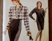 Very Easy Vogue 7330 Misses Jacket & Dress Size 12-16