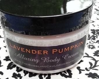 Lavender Pumpkin - Alluring Body Cream - Pumpkin Lavender Lotion - Lavender Pumpkin Bewitching Cream - Aphrodisiac Body Cream