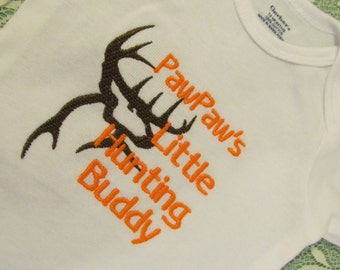 PawPaws Hunting buddy one piece buck commander buck deer one piece / bodysuit pawpaws hunting buddy deer hunter choice of size