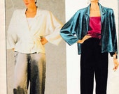 Mccalls 9376 Boho Kimono Jacket Robe Pants Top Set Sew Pattern