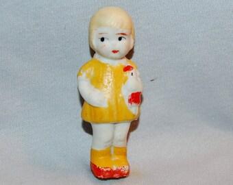 Vintage / Bisque / Doll /  Dolly / Girl / frozen charlotte / penny doll / Vintage Dolls