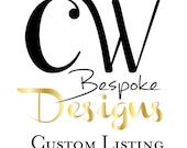 Custom Listing for Kelly Antigua, Guatemala