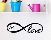 Love Anchor Beach Wall Quotes Words Boat Decals Ocean Lettering