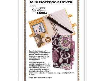 Mini NOTEBOOK Cover ~ Sewing Pattern ~ from Patterns ByAnnie - PBA 238