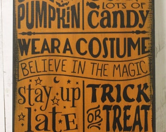 halloween rules signcarve pumpkinwear costumestay up latetrick or - Halloween Party Rules