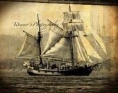 Pirate ship 2 photo print