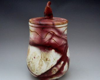 Urn for Ashes, Journey to the Summit of the Himalayas, Pit Fired Pottery