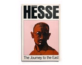 """Milton Glaser paperback book cover design, 1994. """"The Journey to the East"""" by Hermann Hesse"""
