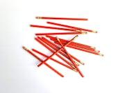 2 Lb Box of Vintage Pencils - Long Island Pencil Company - M & G Supply Corp Brooklyn NY - NY Plumber's Specialty - NYC History