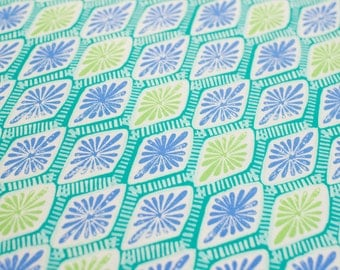 Horizon by Kate Spain, Intersection, Ocean (Moda) Quilting Cotton Fabric 1/2 yard