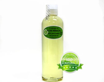 12 oz Pure Aloe Vera Oil Organic Fresh Cold Pressed