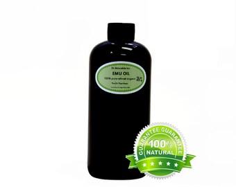 16 oz Emu Oil 100% Pure Fresh From Australia natural Organic