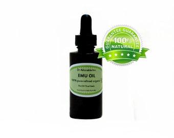 2.2 oz Emu Oil 100% Pure Fresh From Australia Natural Organic