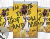 """Premade eBook & Print Book Cover Design Package """"In The Time of You and Me"""" Fiction Romance Love Young New Adult YA"""