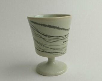Aperitif goblet in mint
