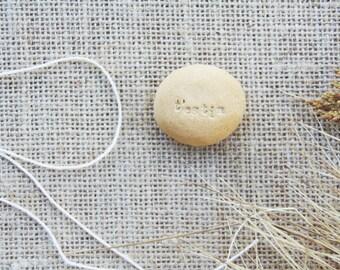 T'estim - love declaration pocket stone or magnet