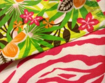 Hawaiian Babe -  Receiving Blanket