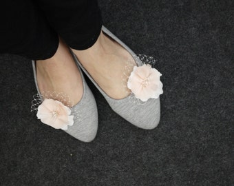 Wedding Shoe Clips - Your choice of colors