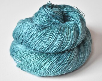 Water spirit  - Tussah Silk Lace Yarn