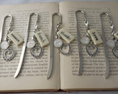 BRIDESMAID Bookmarks Personalized Customized Wedding Party Gifts, Bridesmaid Gifts, Mother of the Bride Gift by Kristin Victoria Designs