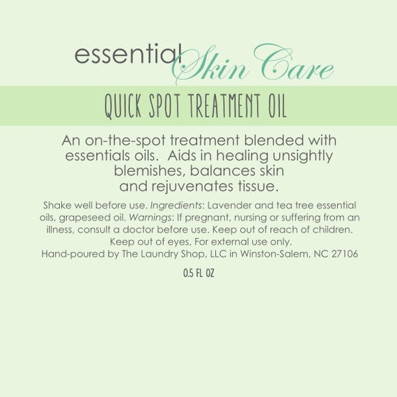 Quick Spot Treatment Oil