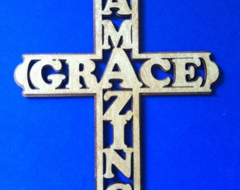Medium Amazing Grace Cross