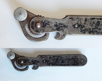 tin opener vintage 1930s tin opener