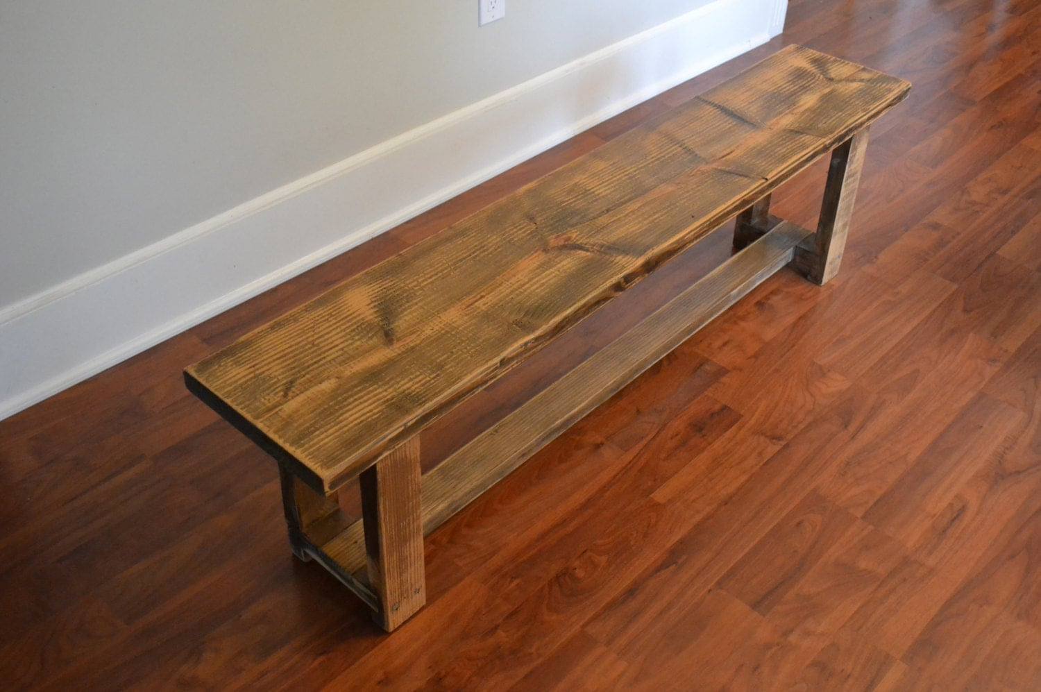 Bench Douglas Fir Bench Reclaimed Wood Bench Barn Wood