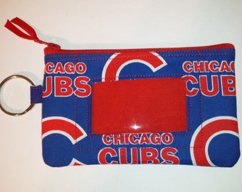 Chicago Cubs  Zip ID pouch